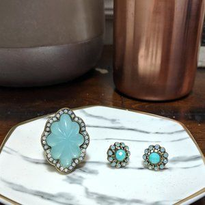 CHLOE + ISABEL Seascape Statement Ring